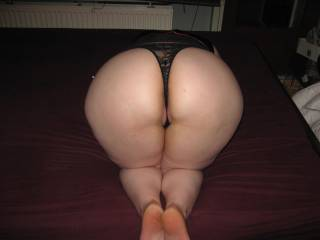 Fantasstic big Ass!! Love to bury my face and cock in there!!
