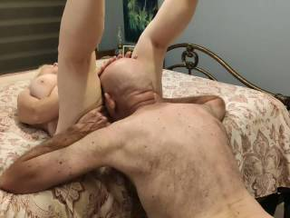 This married woman loves to be eaten. I wonder what it would be like to suck a cock while my pussy is being ravished...