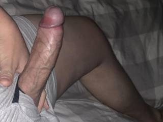 Horny dick for a nice wet mouth