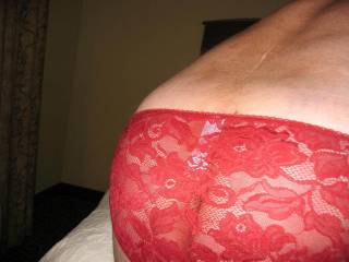 you know i just love your ass shots and in these panties i would have cum in no time at all.xxx