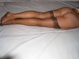 Excellent!! I love nylons and love your sexy stockings!