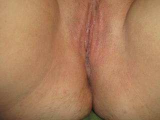 This was my pussy after Beau licked my pussy until I couldn't take it anymore. I was so wet after that pussy licking he gave me.