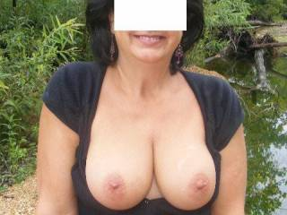 I'd love to smother your nipples with my precum, rubbing all over the twins, moving my head into your mouth as needed for more moisture & then slip between them and titty fuck you until I started to gush all over your pretty face!