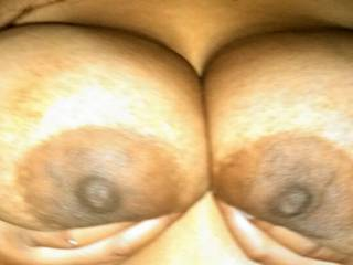 always had a fantasy fetish about big dark areolas. hopefully one day that will come true. this is a perfect set to lose my areola virginity to lol