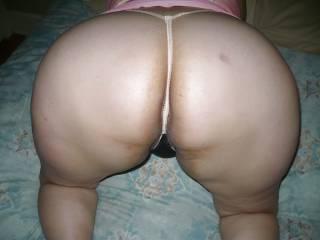 my wife big ass in doggie
