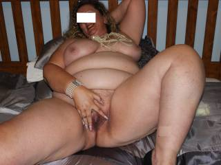 my bbw tits and pussy. I love it that so many of you enjoy looking at my naked body x
