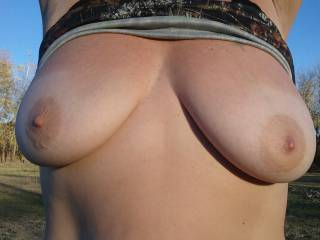 Sensational set of tits.  So I guess I would have to say they look very cock hardening good.