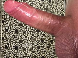 Wondered what you thought of my shaven cock?