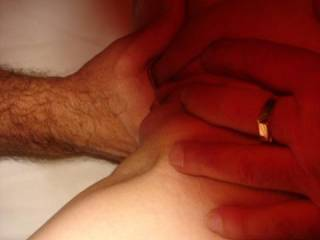 playing with Emma\'s wonderful wet pussy and being helped by robsready