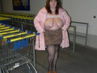 I would love to see a video of these big braless titties walking through the market