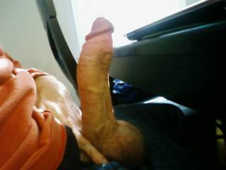 would u like to see this big cock sitting at your morning table