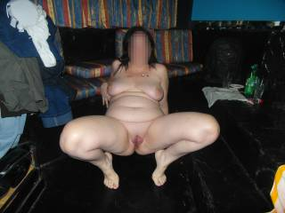 Showing a beautiful shaved and smooth pussy ready to be licked!