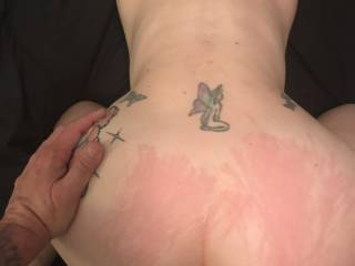 She needed marks and cum