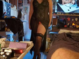 New lingerie...hope Mr.likes it...do you?