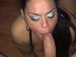 I love sucking my mans dick