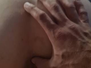 she love a finger in her asshole while i fuck her doggy