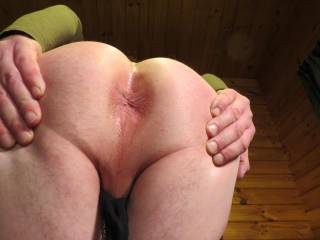 come on slide your rock hard cock in there!