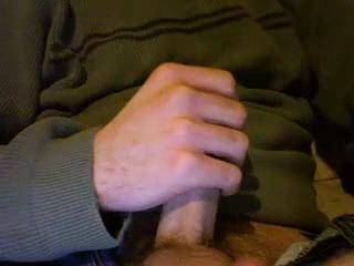 cumming all over a sweater for you to rub on your tits, clit and face