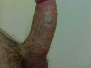 ooohh....big....and best of all, thick.  sigh....i can imagine it in me now....
