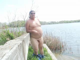 I love being naked outdoors as well
