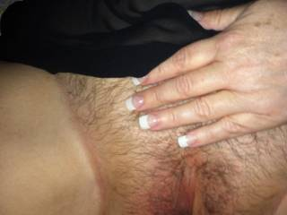 I'll slide my cock in and slowly fuck you pull my cock out and make you lick your juices off my cock. Then make you kneel down so i can spank that ass and fuck you doggy til we both cum.