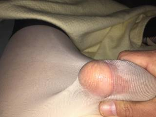 I don't care I love the feel of the pantyhose,it feels fucking great ! ��, I know the woman in my past who I told I like the feel, look  and my ultimate turn on -fetish, seemed pretty turned on as well. Interested in what other ladies and men think