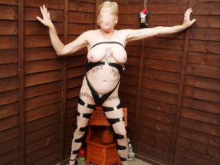 Hi all back again with a few from my garden flashing collection comments always welcome mature couple