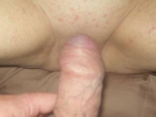 about to give that sweet pussy a good hard fuck