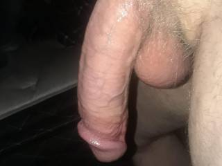 lol I had just drained his cock via bj.. he came so hard my mouth filled up to fast I had to hurry and swallow twice and almost a third time before he was finished