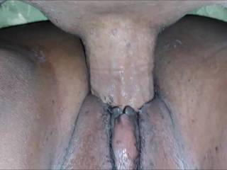 fucking this ebony bbw in her tight pussy