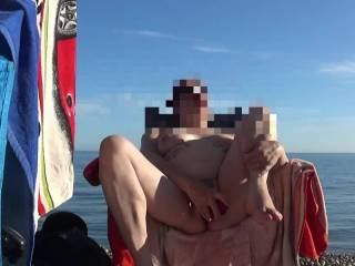 Hi viewers the third of our beach sessions, I came so many times on the beach and the day ended with a hard fast fuck. dirty comments welcome mature couple