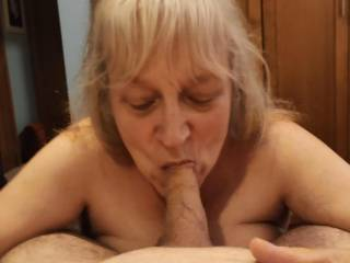 Like every woman should: Swallowing every bit of that delicious and wonderful cum! This married woman needs your cock now for her veracious appetite for cum. Mmm...