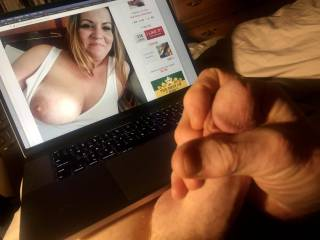 So very sexy, Showingoffmywife, I couldn\'t help it, I immediately started stroking my cock.