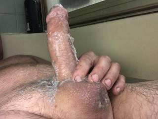 Shaving my balls