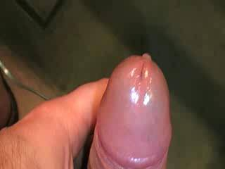 That is so great to watch your white jizz comming out...made me cum heavy too.
