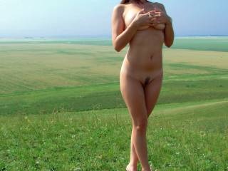 I like you posing outside too. That's a beautiful pic of a fantastic young body.