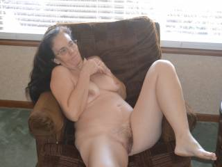 I'd love to get between your legs and lick your pussy.