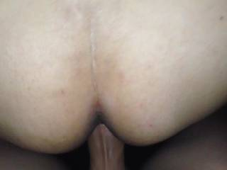 Love the under view of that wet pussy getting fucked.