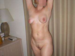 You're a lucky man to have such a hot, sexy wife putting on a show for you.  I'd love to see her next show.