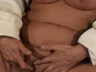 Love to touch myself especially when I\'m hubby takes pics.