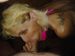 I bought her a 10$ bikini and got a blowjob and quick fuck