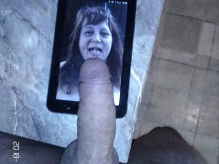 Because of peni77 and his lovely cock, Mrs. Shutterbug58 is all smiles. These are truly the gifts that Mrs. Shutterbug58 prefers to receive from friends. Where is your tribute for me?