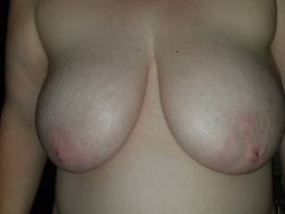 My wife's big ole titties