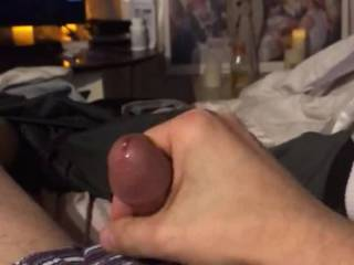 I love cumming while someone watches. Do you like stroking your cock while watching porno?? I do.