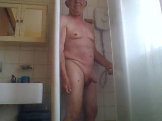 getting horny in the shower