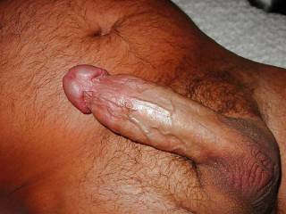 so turned on there\'s a little perCUM comimg out of thetip of my THROBBING COCK