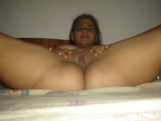mmmmmmm....That looks so inviting....I would love to eat your pussy til you begged me to fill it with my cock and a load of my hot cum