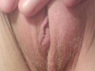 How about sliding your nice hard cock in that ?