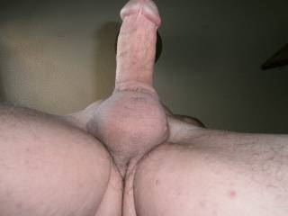 I want to suck your tight balls while I lick your cock.