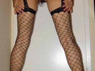 It would be a pleasure to lick any part of you. Beautiful ass and long legs. Love the fishnets!